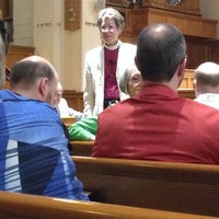 Photo taken at St. Michael's & All Angels Episcopal Church by Ken S. on 9/5/2014