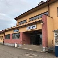 Photo taken at Železničná stanica Humenné by Karel C. on 8/19/2017