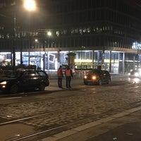 Photo taken at Karlovo náměstí (tram, bus) by Karel C. on 1/27/2018