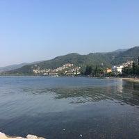 Photo taken at Eregli Tıstıs Beach by Tuğçe A. on 9/16/2017