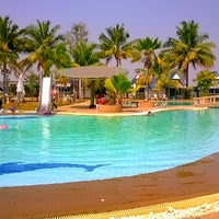 Photo taken at Castle Howchow Beach Resort Hotel Khon Kaen by Amanda G. on 2/15/2014