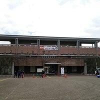 Photo taken at 宮崎市生目の杜運動公園陸上競技場 by ふじも on 2/21/2015
