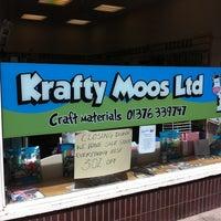Photo taken at Krafty Moos by Paula M. on 6/17/2013
