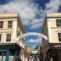 Photo taken at Greenwich Market by Hisham K. on 8/4/2013
