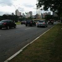 Photo taken at Avenida Santos Dumont by Lia C. on 6/21/2013