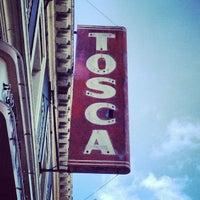 Foto scattata a Tosca Cafe da Annie B. il 6/7/2013