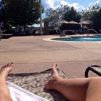 Photo taken at Congress Park Pool by Brynn P. on 10/11/2014
