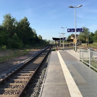 Photo taken at Bahnhof Gensingen-Horrweiler by Miguel A. on 5/28/2017