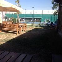 Photo taken at DSİ Tenis Kortları by Metin S. on 9/24/2013