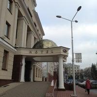 "Photo taken at Гостиница ""Белгород"" by MAKKUHA V. on 12/1/2012"