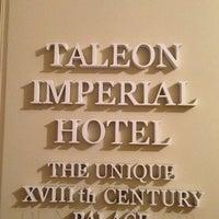Photo taken at Талион Империал / Taleon Imperial Hotel by Reyhaneh on 8/15/2013