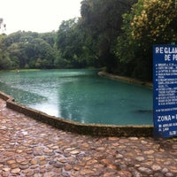 Photo taken at Parque Ecoturistico San Miguel Regla by Alfonso D. on 7/18/2012