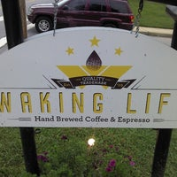 Photo taken at Waking Life Espresso by Fred L. on 8/17/2012