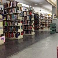 Photo taken at MassArt Morton R. Godine Library by Alyssa M. on 2/29/2012