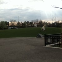 Photo taken at Locust Point Dog Park by Mary Theresa W. on 3/19/2012