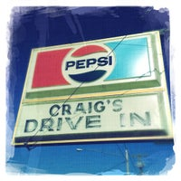 Photo taken at Craig's Drive In by Darrin H. on 5/12/2012