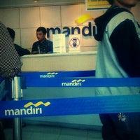 Photo taken at Bank Mandiri by Syaifudin Z. on 12/6/2013