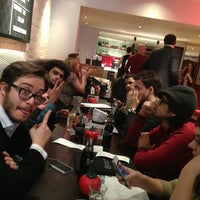 Photo taken at Gourmet Burger Kitchen by Mike A. on 2/14/2013