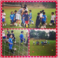 Photo taken at Marist School Football Grounds by Thirdie A. on 9/14/2013