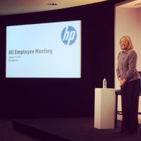 Photo taken at HP Headquarters by Paula B. on 1/11/2014