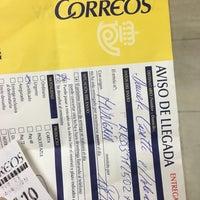 Photo taken at Oficina Correos by jadzia d. on 5/19/2016