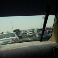 Photo taken at Al Warqa Roundabout by Miroooh .. on 9/8/2013