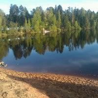 Снимок сделан в Пляж на реке Оредеж пользователем Винни Пох 5/17/2014