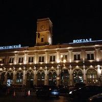 Снимок сделан в Московский вокзал пользователем Diana I. 11/1/2013