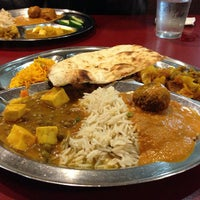 Photo taken at All India Sweets & Restaurant by Felice L. on 5/18/2013