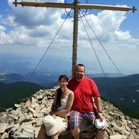 Photo taken at вр. Безбог, 2645м / Bezbog peak, 8677ft by Dmitry D. on 8/6/2017