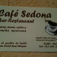 Photo taken at Café Sedona by Miq on 12/28/2012