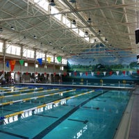 Photo taken at Richmond Municipal Natatorium (The Plunge) by 黄金 马. on 7/22/2013
