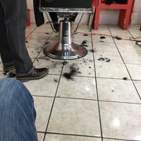 Photo taken at Raul's barbershop by Luis Gönzalez on 11/22/2016
