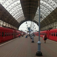 Photo taken at Kievsky Rail Terminal by Milana L. on 7/24/2013
