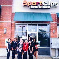 Photo taken at Sport Clips Haircuts of Homer Glen by Rahat B. on 6/22/2013