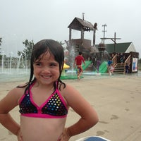 Photo taken at Tanner Park Spray Park by Cara T. on 7/3/2013