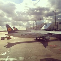 Photo taken at Munich Franz Josef Strauss Airport (MUC) by Alina S. on 10/17/2013