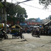 Photo taken at Nguyen Tri Phuong Market by Bao N. on 12/8/2013
