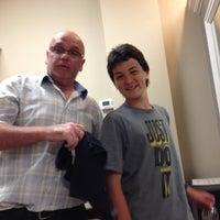 Photo taken at J. Davis Hair Salon by Lawrence E. on 6/21/2013