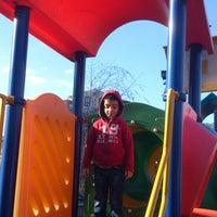 Photo taken at Korsan Bayraklı Park by Orçun M. on 2/24/2013