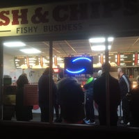 Photo taken at Fishy Business by Mark E. on 3/11/2016