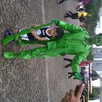 Photo taken at Lapangan Silang Monas by Desyita S. on 6/6/2013