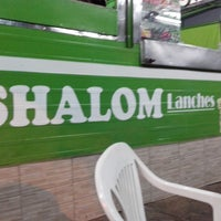 Photo taken at shalom lanches by Gustavo R. on 7/10/2013