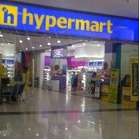 Photo taken at Hypermart Mandau City Mall by Riefki A. on 6/17/2013