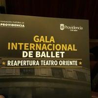 Photo taken at Teatro Oriente by Ale on 8/26/2017