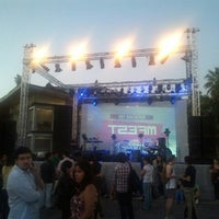 Photo taken at Centro Cultural Matucana 100 by Ale on 1/9/2013