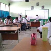 Photo taken at SMAN 58 Jakarta by Mira R. on 9/17/2013