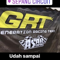 Photo taken at Sepang International Go Kart Track by Phais H. on 2/26/2017