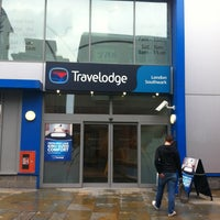 Photo taken at Travelodge London Southwark by Felo H. on 9/6/2013