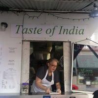 Photo taken at New Taste Of India by Yung-Yu C. on 10/6/2013